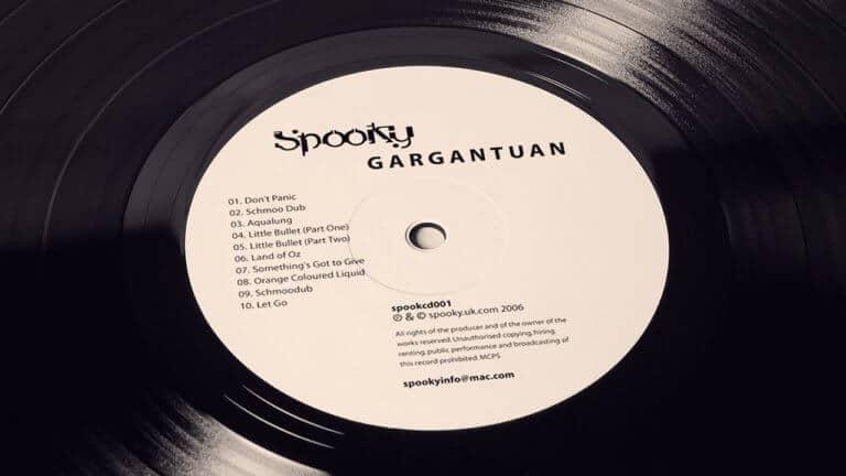 SPOOKY - GARGANTUAN Vinyl centre
