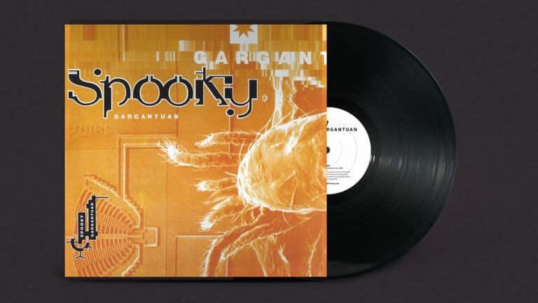 SPOOKY - GARGANTUAN Vinyl Front cover with vinyl